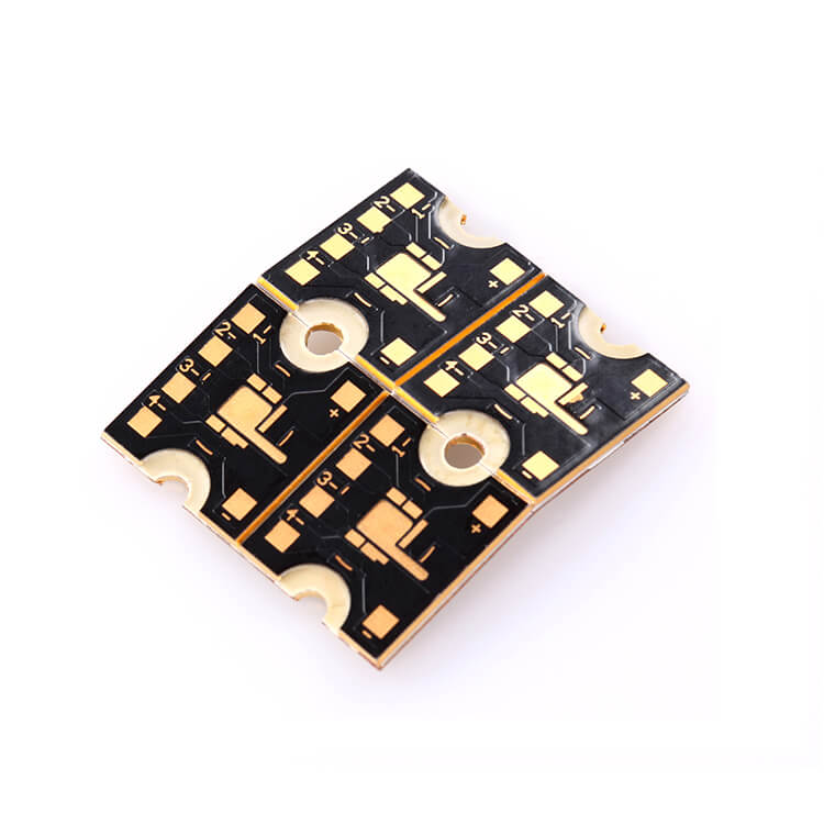 OEM Heavy Copper PCB Gold Plated Round PCB Supplier